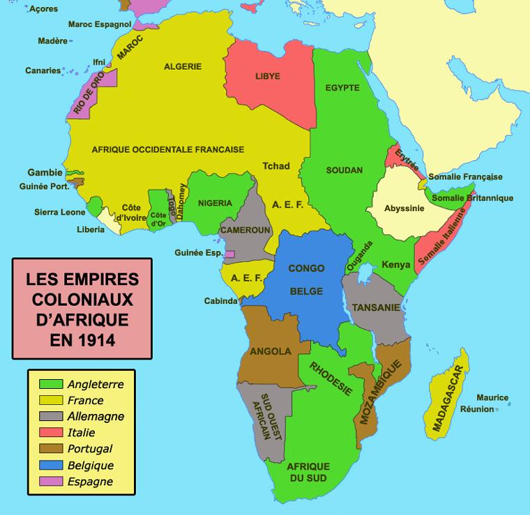 Afrique terres d invasion de l esclavage et de la colonisation tchad notre maison - Le plus grand port en afrique ...